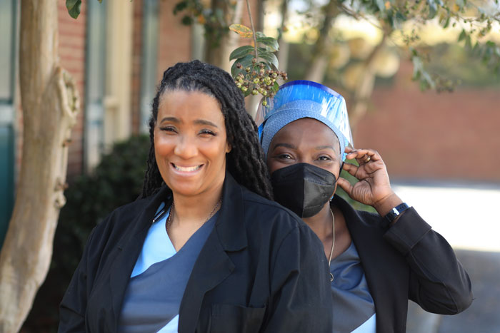 Meet the Doctors Joyce R. Lewis, MD and Dorothy A. O. White-Williams, MD